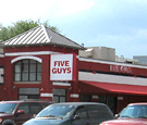 Five Guys, ornaldo - Channel Letters & Projecting Wall Sign