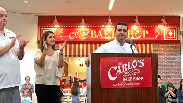Buddy Valastro Opens new Carlo's Bakery in Florida Mall. SignAccess provides Signage