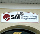 SAI Consulting Engineers - Wall Sign