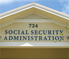 Social Security Administration - Flat-cut dimensional acrylic lettering