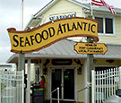 Seafood Atlantic at Cape Canaveral, FL - Routed Dimensional Signage