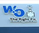 W & O - Channel Letters and Logo