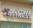 Anytime Fitness - Palm Bay, FL - Channel Letters and Logo