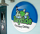 Bayside Discovery Center - Routed Dimensional Wall Sign