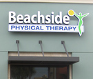 Beachside Physical Therapy - Channel Letters and Logo