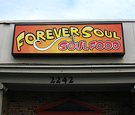Forever Soul Soulfood - Logo Design and Face Replacements