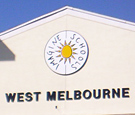 Imagine Schools at West Melbourne - Flat-cut dimensional acrylic lettering and logo