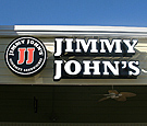 Jimmy Johns, Longwood - Channel Letters and Logo