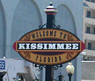 "Downtown Kissimmee - ""Welcome Sign"""