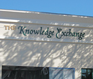 Knowledge Exchange - Non-Illuminated Flat-Cut Acrylic Letters