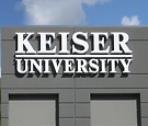 Keiser University @ Dolphin Commerce Center, Miami - Three Sets of Reverse Channel Letters