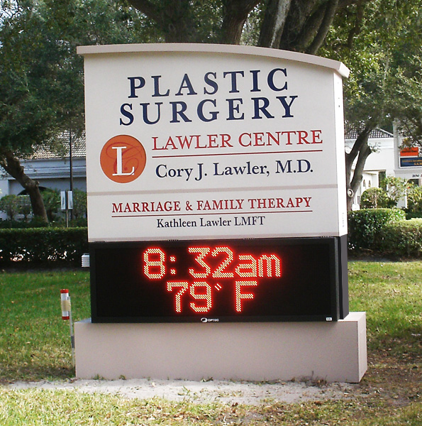 Signaccess Melbourne Fl Freestanding Signs With Led