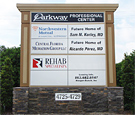 Parkway Professional Center - Monument Sign