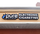 Pure Cigs Electronic Cigarettes in Melbourne, FL - Contour Channel Sign