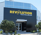 Revolution Technologies - Composite Aluminum Cladding wrapping all sides of free-standing wall structure and entryway