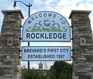 Rockledge, FL Welcome Sign - Sign Panels for Masonry Monument Sign
