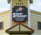 Shoot Straight West Palm Beach, FL - Wall Signs