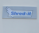 Shred-It - Wall Sign