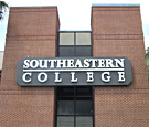 Southeastern College - Tampa, FL - 23ft long wall sign with Channel Letters